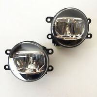 For 2010 2011 2012 Toyota Prius Fog Driving Light Kit Built-in LED with Wiring