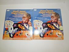 Outer Space Finger Puppets 2 Packs