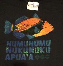 NWT MENS L Humuhumunukunukuapua'a Hawaiian Reef Trigger Fish CRAZY SHIRTS Hawaii