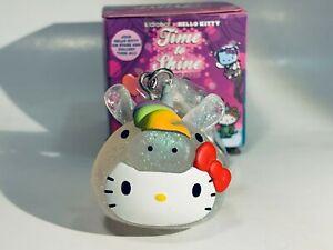 Kidrobot Sanrio Hello Kitty Time Shine CHASE UNICORN Kitty Keychain Mini Vinyl
