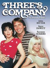 THREE'S COMPANY SEASON 1 DVD JOHN RITTER JOYCE DEWITT SUZANNE SOMERS NEVER  PLAY