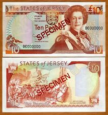 Jersey 50 pounds 1993 UNC Reproduction