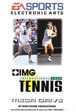 ## SEGA Mega Drive - IMG: International Tour Tennis - TOP / MD Spiel ##