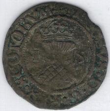 Tmm* 1538-42 Scotland Billon Bawbee James V Scotland aVf approx 21-22Mm