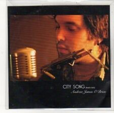 (DK571) City Song, Andrew James O'Brien - 2012 DJ CD