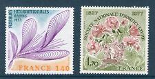 TIMBRES 1930-1931 NEUFS XX LUXE  - FLORALIES INTERNATIONALES - FLEURS