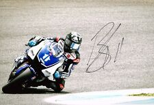 Ben Spies HAND SIGNED Autograph of American Yamaha MotoGP Rider 12x8 Photo AFTAL