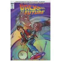 Back to the Future (2015 series) #11 SUB cover in NM condition. IDW comics [*p6]