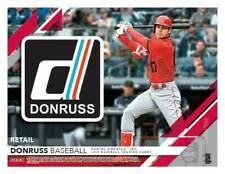 2019 Donruss Baseball Trading Cards 88c. Retail BLASTER Box=Purple&Rapture PC