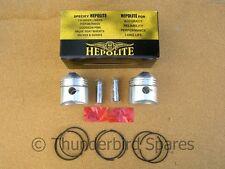 Piston Kit, Triumph T100 1967*-1974, Hepolite, 9:1, 70-6884, Standard