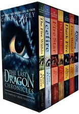 The Last Dragon Chronicles 8 Books Set Collection by Chris D'lacey Fire Eternal