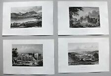 Großbritannien, England - Konvolut, Sammlung - 5 Stahlstiche 1864
