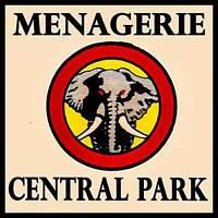 Menagerie Central Park, NYC FRIDGE MAGNET