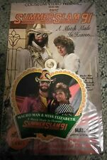 WWF SummerSlam 1991 VHS FACTORY SEALED Coliseum Video Savage Wedding NEW WWE