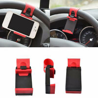 Universal Car Steering Wheel Clip Mount Holder Cradle Stand For Cell Phone new.