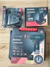 Parkside 12v Trapano Cacciavite Senza Fili con batterie 2x e 4AH Batteria + Caricabatteria