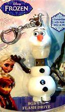 NEW Disney Frozen Olaf Snowman 8 GB USB Flash Drive Memory Stick Dongle Licensed