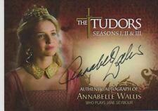 TUDORS ANNABELLE WALLIS AS JANE SEYMOUR AUTOGRAPH CARD TA-AW SAN DIEGO COMIC CON