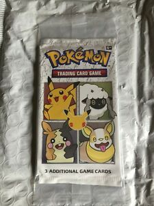 Pokemon 25th Anniversary General Mills Promo Cards w/ Pikachu Holo Foil. 1 pack.