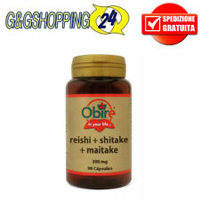 Obire Reishi + shitake + maitake 90 cpr da 300 mg Antiossidanti naturali