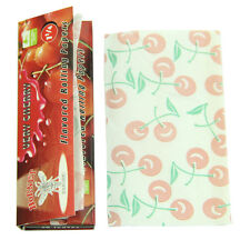 50 Leaves with Glue Hornet Cherry Flavored Cigarette Tobacco Rolling Papers