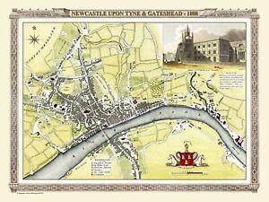 History Portal Map of Newcastle & Gateshead 1808  1000 Pc Jigsaw Puzzle (jg)