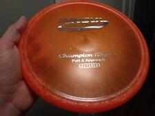 New Beautiful Super Pearly Innova Champion Rhyno Sweet Orange 175g Disc Golf