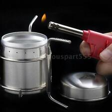 Stainless Steel Spirit Burner Alcohol Stove Camping Stove Furnace Q5P1