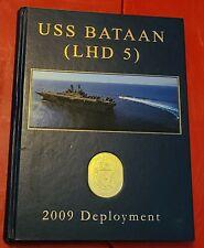 USS Bataan (LHD 5) 2009 Cruisebook.  Mint condition