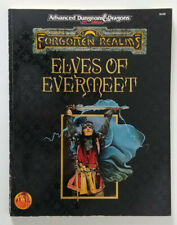 Advanced Dungeons & Dragons 2 2e 2nd - Elves of Evermeet (1994) (EX) Collectible