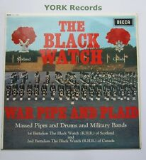 CANADIAN & IMPERIAL BLACK WATCH - War Pipe & Plaid - Ex LP Record Decca SKL 4738