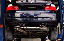 Beluga Racing BMW  2001-2006 E46 M3 3.2L I6 High Performance Axle Back Exhaust