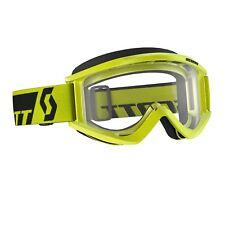 Scott RECUL XI LUNETTES Goggle VERT / Transparent pour MOTOCROSS MX SX ENDURO