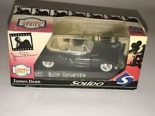 Signature Series SOLIDO Ltd Edition JAMES DEAN 1950 BUICK CONVERTIBLE 1:43 Black