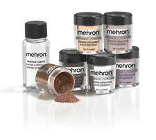 Mehron Metallic Powder and Mixing Liquid (carded)