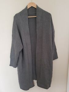 Women's Knitted Long Sleeve Cardigan Loose Sweater Jumper Oversized Outwear Coat
