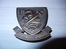 MARINE      COS      COMMANDOS  MARINE      badge  de  béret        (  Cholet  )