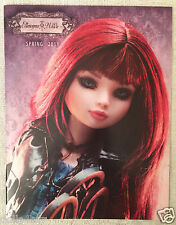 New Tonner Ellowyne Wilde Evangeline Ghastly Spring 2011 Doll Catalog/Catalogue