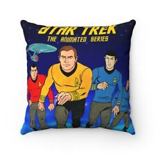 STAR TREK The animated Series Pillow Spun Polyester Square Pillow gift