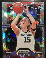 2020 Panini Prizm WNBA Lauren Cox Rookie Cracked Ice Prizm Fever #91 RC