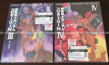 Mobile Suit Gundam The Origin III & IV 3 & 4 Set Blu-ray+Booklet English Japan