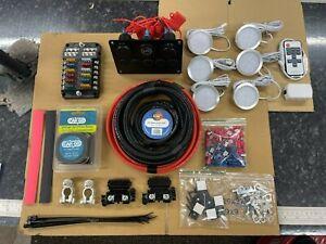 12V Camper van Wiring Kit Conversion Split Charge Relay Self Build