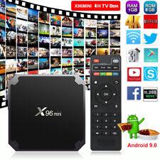 NEW X96MINI Android 9.0 Pie 1+8G Quad Core 4K Media HDMI2.0 WIFI Smart TV BOX 3D