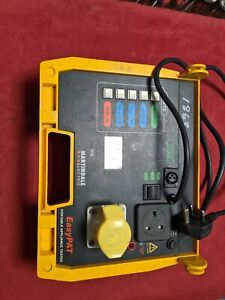 Martindale EasyPAT  PAT Tester 110v and 220v  missing top cover and cable