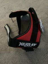 Julius K9 Dog Power Harness Brand New Red Size 0