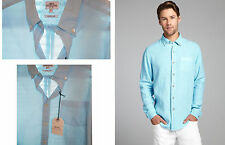 Cotton Patternless NEXT Casual Shirts & Tops for Men