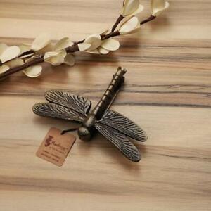 Indian Dragon Fly Design Metal Door Knocker - (Antique Brown, Standard)