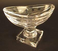 Vintage Waterford Crystal Salt Cellar Bowl