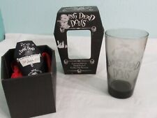 NEW LIVING DEAD DOLLS ETCHED BARWARE GLASS - POSEY