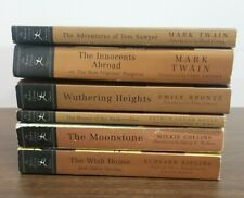 Libro Lote De 6 Modern Library Clásicos. Piedra Lunar. deseo Casa. Wuthering Heights